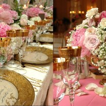 Wedding Pink Wedding Centerpiece Ideas