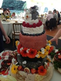 Wedding Cheese With Mice Cake Toppers Excellent Idea As An