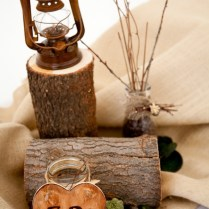 Wedding Christmas Ornaments, Wood Slices And Logs On Emasscraft Org
