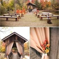 Wedding Decor Harvest Theme For Simple Outside Fall Wedding