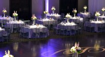 Wedding Decoration Ideas Table Purple And Silver Wedding