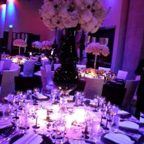 Wedding Decoration Ideas Table Purple And Silver Wedding