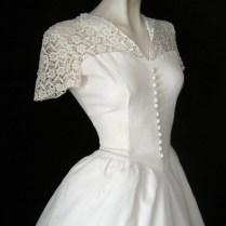 Wedding Dress 1940s Styles – Dresses