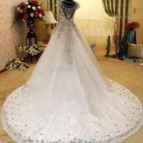 Wedding Dress Trainswholesale Wedding Dress Buy Luxury Crystal