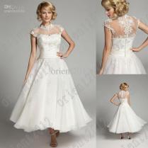 Wedding Dresses With Collar
