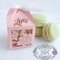 Wedding Favors Macaron Favor Wedding Love By Splendidsweetshoppe