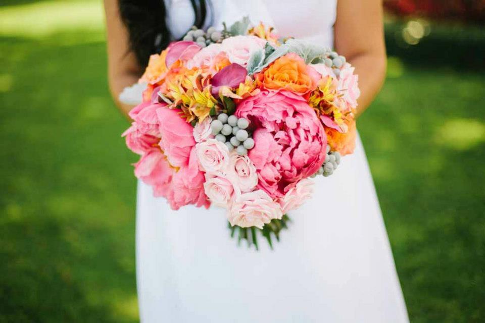 Hawaiian Flower Wedding Bouquets