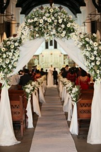 Wedding Flowers Ideas Church Wedding Flowers Decoration With