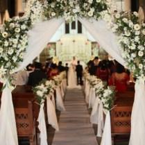 Wedding Flowers Ideas Church Wedding Flowers Decoration With