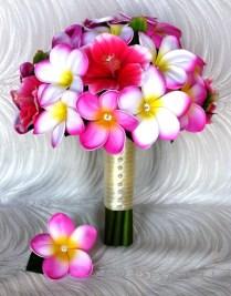 Wedding Flowers Ideas Elegant White Hawaiian Wedding Flowers