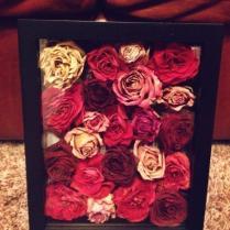 Wedding Flowers In A Box On Wedding Flowers With Shadow Box