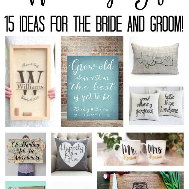 Wedding Gift For Groom Ideas
