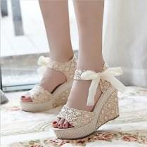 Wedding Shoe Wedges Beauty