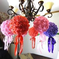 Wedding Supplies 18cm Pe Flower Ball Decorative Flower Ball