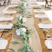 Wedding Trends 12 Table Runners Centerpiece Decoration Ideas