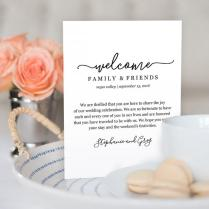 Wedding Welcome Bag Note, Welcome Bag Letter, Printable Wedding