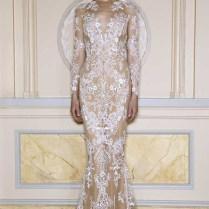Zuhair Murad Boho Lace Wedding Dress