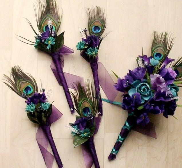 1000 Ideas About Peacock Wedding Flowers On Emasscraft Org