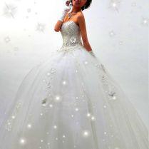 1000 Ideas About Sparkle Wedding Dresses On Emasscraft Org