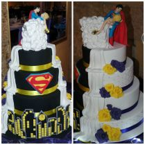 1000 Ideas About Superman Wedding Cake On Emasscraft Org