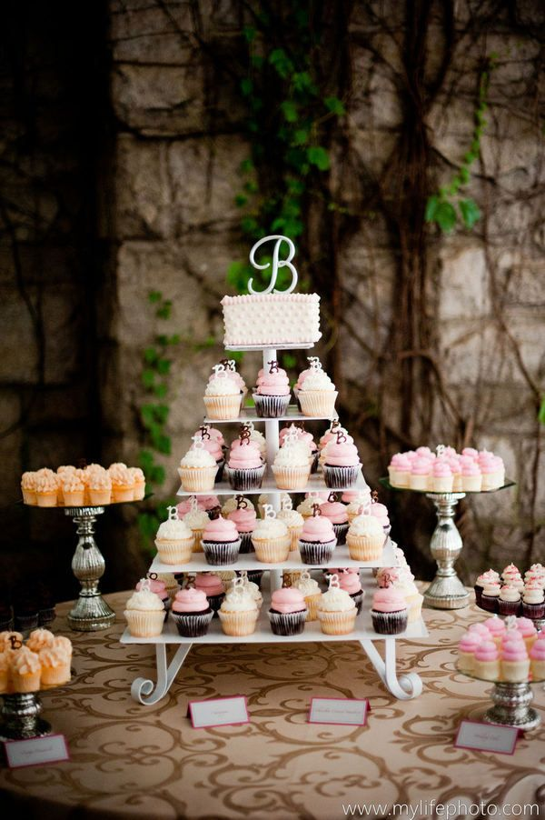 Wedding Cupcake Table Decorations