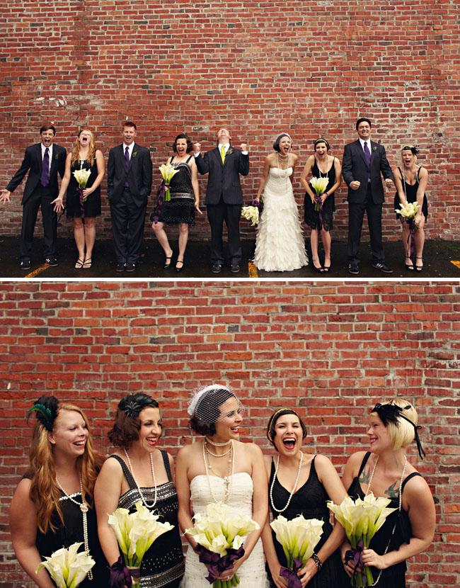 1920s Themed Wedding Reception