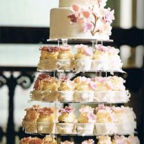 1000 Images About Cakes With Matching Cupcakes & Cupcake Towers
