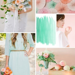 1000 Images About Peach And Mint Weddings On Emasscraft Org