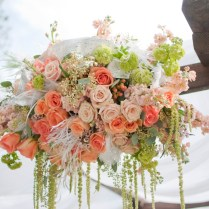 1000 Images About Peach, White And Green For Your Wedding On
