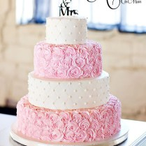 1000 Images About Pink Wedding Cakes On Emasscraft Org