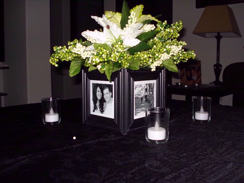 Emily Post Wedding Gift Etiquette: Picture Frame Centerpieces For Weddings