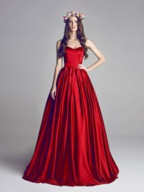 23 Fabulous Colored Wedding Dresses Ideas To Get Inspired