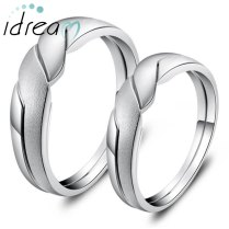 2in1 Interlocking Infinity Couple Wedding Band For Women Or Men