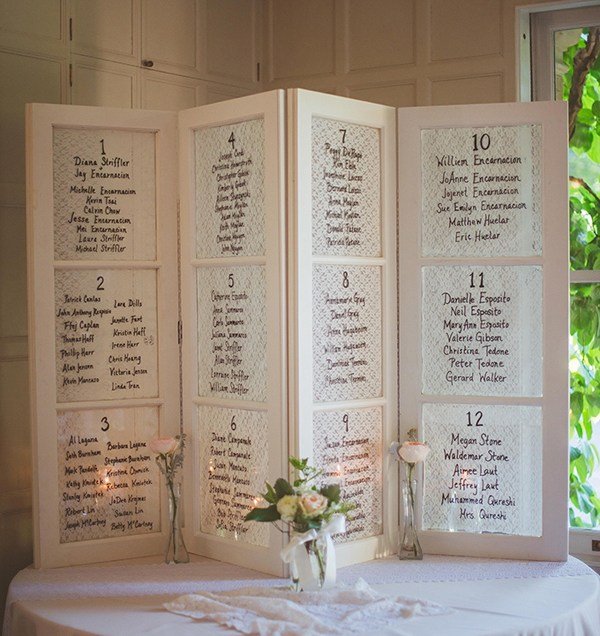 Wedding seating chart ideas junglespirit Image collections