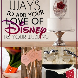 33 Subtle Ways To Add Your Love Of Disney To Your Wedding