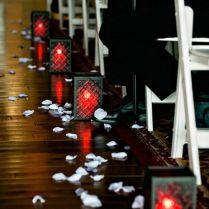 35 Red And Black Vampire Halloween Wedding Ideas