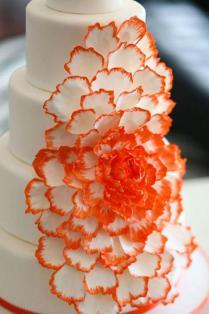 3 Orange Wedding Color Palettes