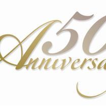 50 Year Anniversary Clipart
