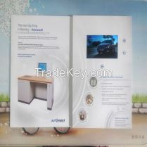 5inch Lcd Vedio Advertising Card Promotional Brochure Greeting