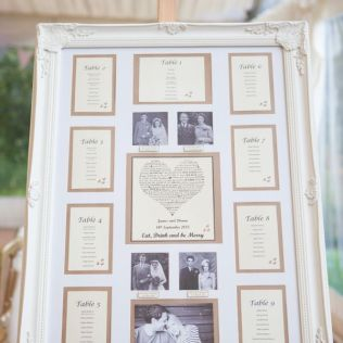 6 Ways To Use Frames At Your Wedding