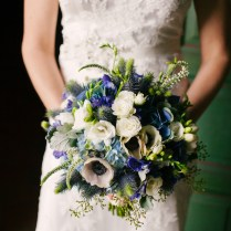 8 Ideas We Love From This Beautiful Blue Fall Wedding