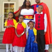 Adorable Superman And Wonder Woman Wedding