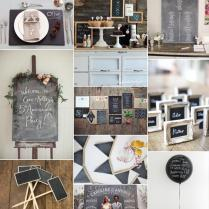 Back To School ✈ Chalkboard Wedding Ideas And Inspiration