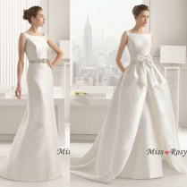 Ball Gown Wedding Dress With Removable Skirt – Wedding Celebration