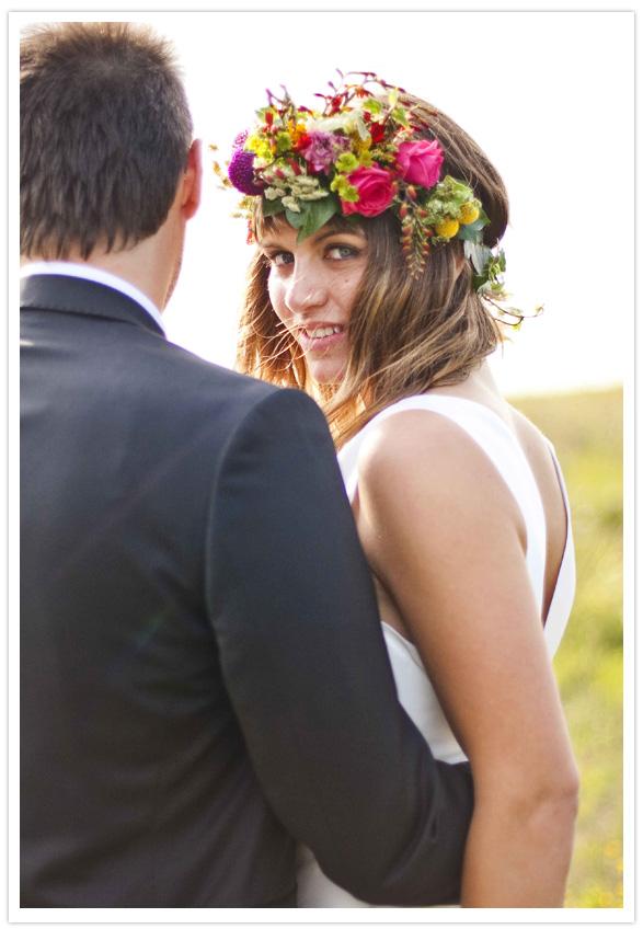 Beautiful & Boho Bridal Flower Crowns Chic Vintage Brides