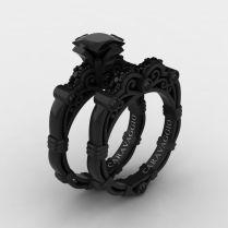 Black Wedding Rings Best Photos