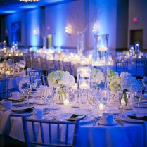 Blue Wedding Reception Decorations Ideas
