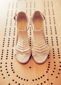 Bridal Style Neutral Colored High Heels Are A Perfect Fit For
