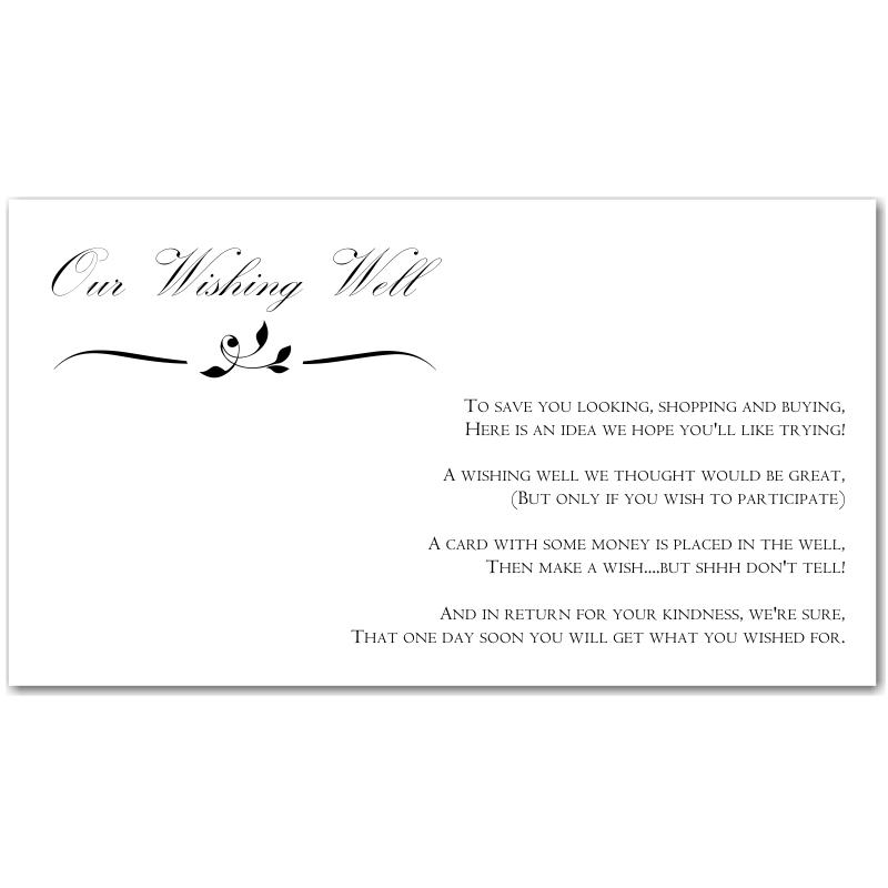 Wedding Wishing Well Invitations: Wishing Well Sayings For Weddings