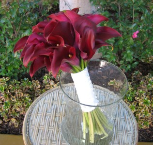 Burgundy, Bouquets And Calla Lilies On Emasscraft Org